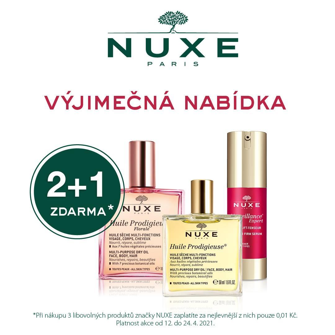 Skvělá nabídka kosmetiky NUXE
